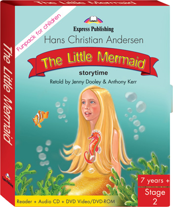 Stage 2 - The Little Mermaid FunPack (Pupil's Book, Audio CD, DVD Video/DVD-ROM PAL)