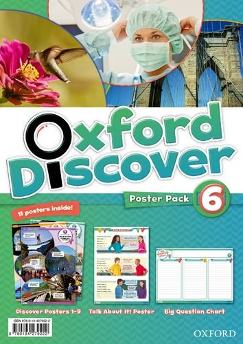 Oxford Discover 6  Poster Pack