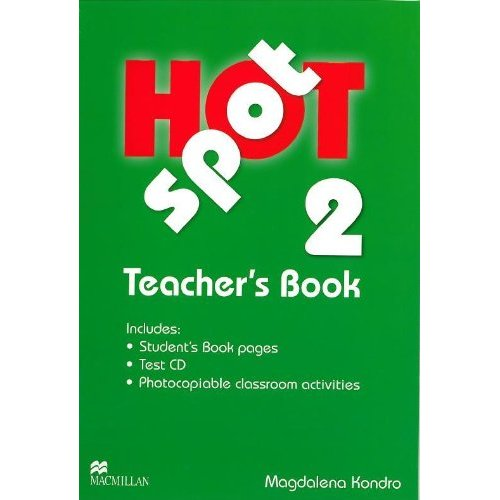 Hot Spot 2 Teacher's Book + Test CD