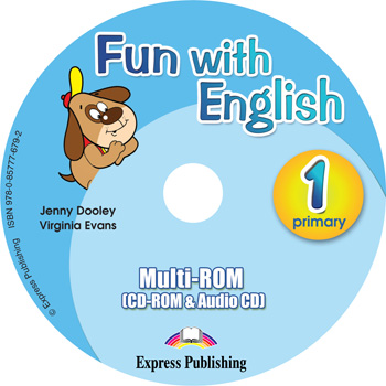 Fun with English 1. Primary. multi-ROM (CD-ROM & Audio CD )