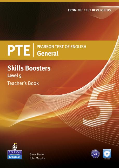 PTE General Skills Booster 5 Teacher's Book (with Audio CD)