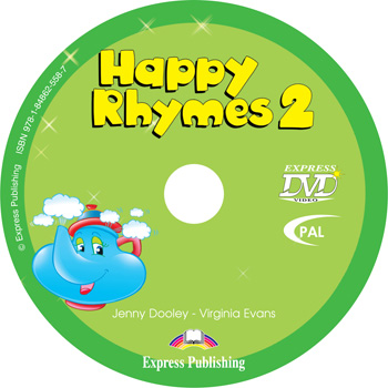 Happy Rhymes 2 Story Book DVD Video PAL