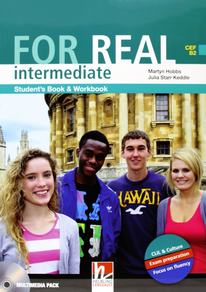 For Real Intermediate Student's Pack (SB + WB) with CD/CD-ROM