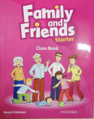 Family and Friends Starter Class Book with Online Practice