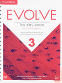 Evolve 3 Teacher's Edition with Test Generator