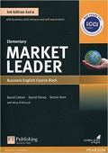 Market Leader 3rd Edition Extra Elementary Coursebook and DVD-ROM Pack