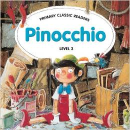 Primary Classic Readers Level 3: Pinocchio with Audio CD