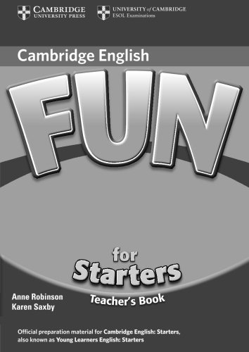 Fun for Starters, Movers and Flyers 2nd Edition Starters Teacher's Book