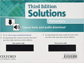 Solutions Third Edition Elementary Course Tests and audio download