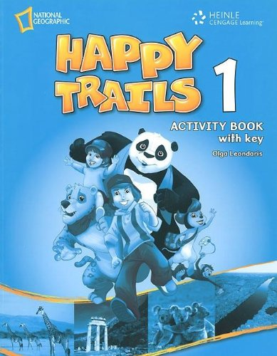 Happy Trails 1 Activity Book Overprinted key