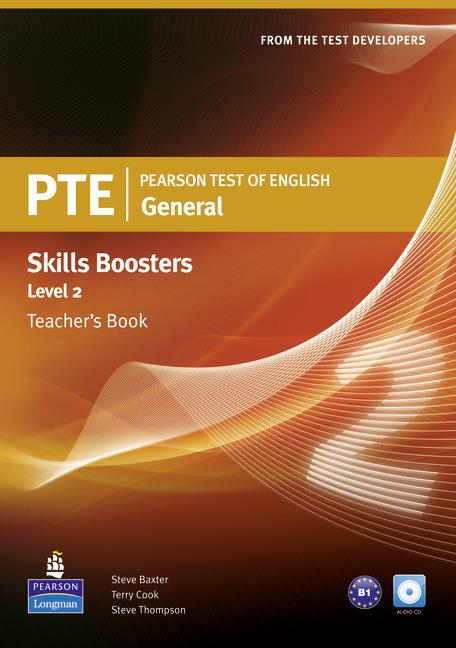 PTE General Skills Booster 2 Teacher's Book (with Audio CD)