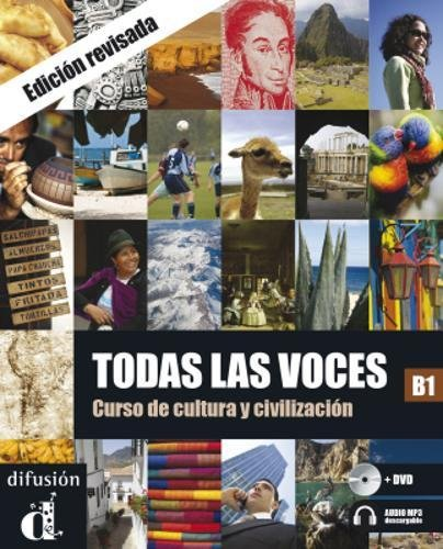Todas las voces B1 Libro del alumno + descarga mp3 + DVD