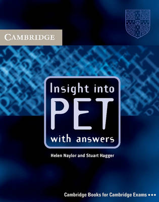 Insight into PET Student's Book with Answers