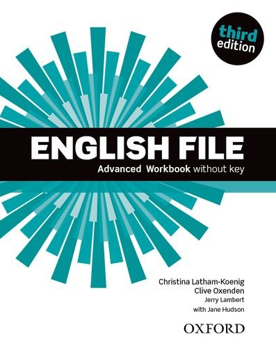 English File Third Edition Advanced Workbook without key