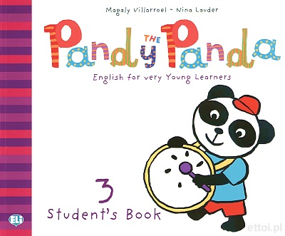 Pandy the Panda 3 Student's Book + Song Audio CD