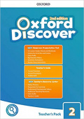 Oxford Discover Second edition 2: Teacher's Book Pack (Teacher's Guide, CPT and Teacher Resource Center)
