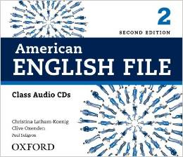 American English File Second edition Level 2 Class Audio CD (4)
