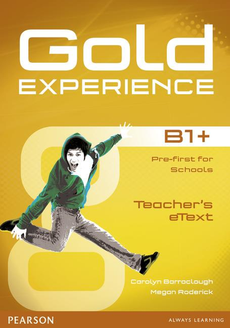 Gold Experience B1+ Teacher's eText ActiveTeach Disc
