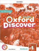Oxford Discover Second edition 1: Workbook with Online Practice