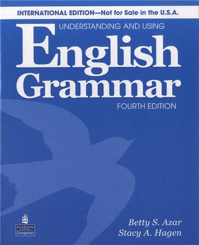 Understanding & Using English Grammar International 4th Edition (Azar Grammar Series) Students Book without key with Audio CD