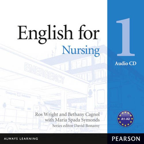 Vocational English Level 1 (Elementary) English for Nursing Audio CD