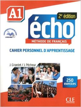 Echo A1 - 2e edition - Cahier personnel d'apprentissage + CD audio + livre-web