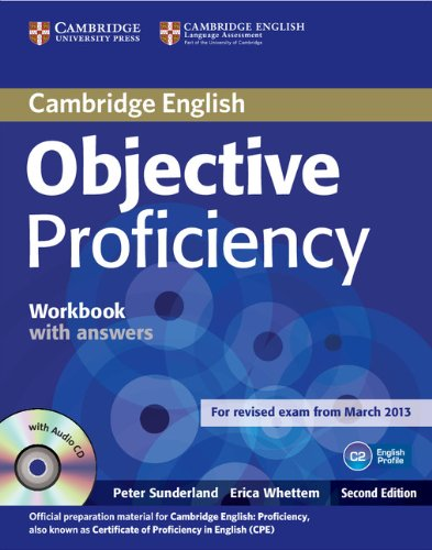 Objective Proficiency (Second Edition) Workbook without Answers with Audio CD