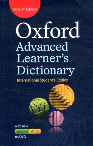 Oxford Advanced Learner's Dictionary (9th Edition) International Student's edition with DVD-ROM