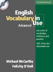 English Vocabulary in Use: Advanced Book with answers and CD-ROM