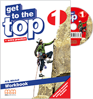 Get to the Top 1 Workbook + Grammar Practice with Student's audio CD/CD-Rom