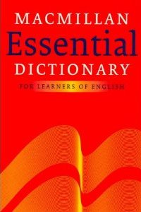 Macmillan Essential Dictionary for Learners of English Paperback
