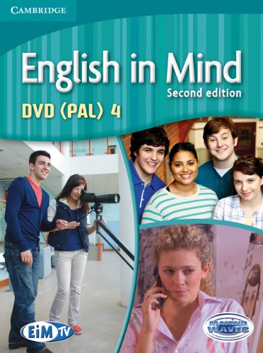 English in Mind (Second Edition) 4 DVD Pal