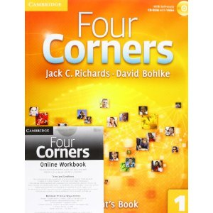 Four Corners Level 1 Student's Book with Self-study Audio CD and Online Workbook Pack