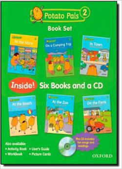 Potato Pals 2 Book Set with Audio CD