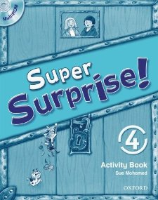 Super Surprise! 4 Activity Book and Multi-rom Pack