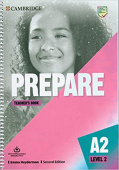Prepare 2nd Edition 2 Teacher's Book with Downloadable Resource Pack