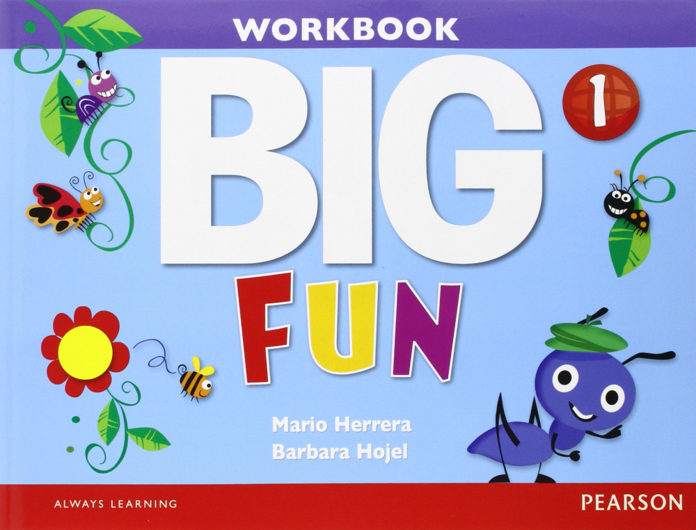Big Fun 1 Workbook with Audio CD