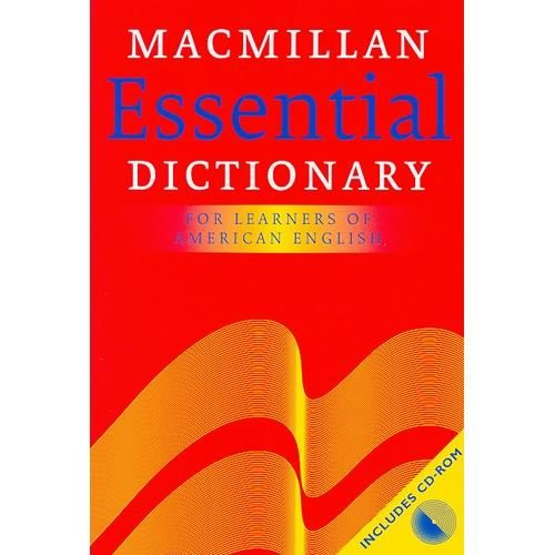 Macmillan Essential Dictionary for Learners of English Paperback with CD-ROM