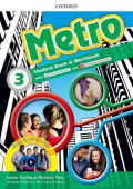Metro 3 Student Book and Workbook Pack