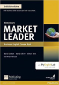 Market Leader 3rd Edition Extra Elementary Coursebook and DVD-ROM Pack with MyEnglishLab