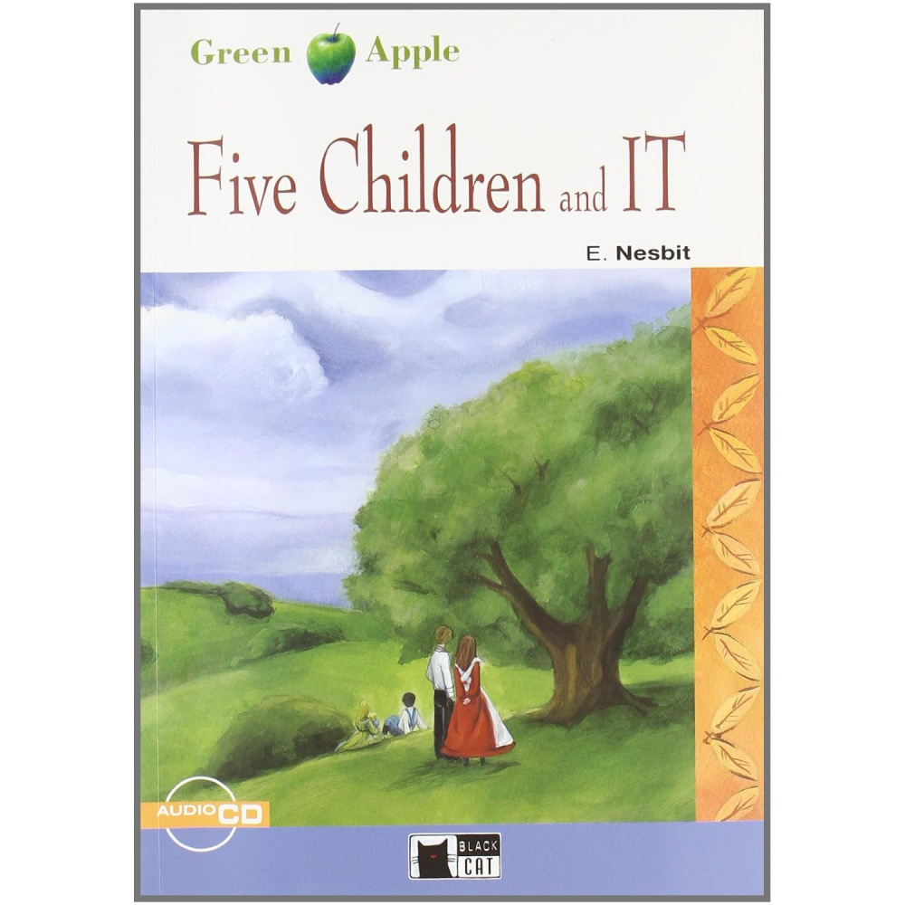 Green Apple Starter:  Five Children and it  with Audio CD
