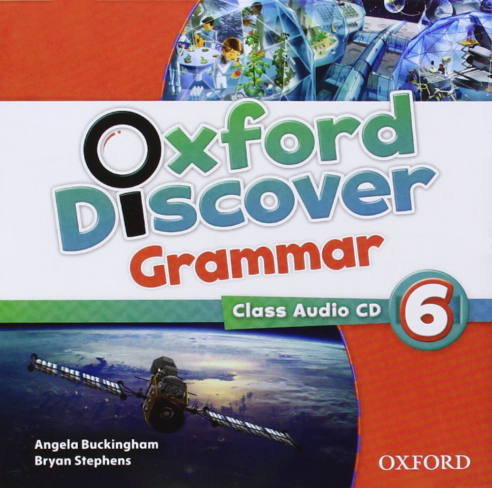 Oxford Discover 6  Grammar Audio CD
