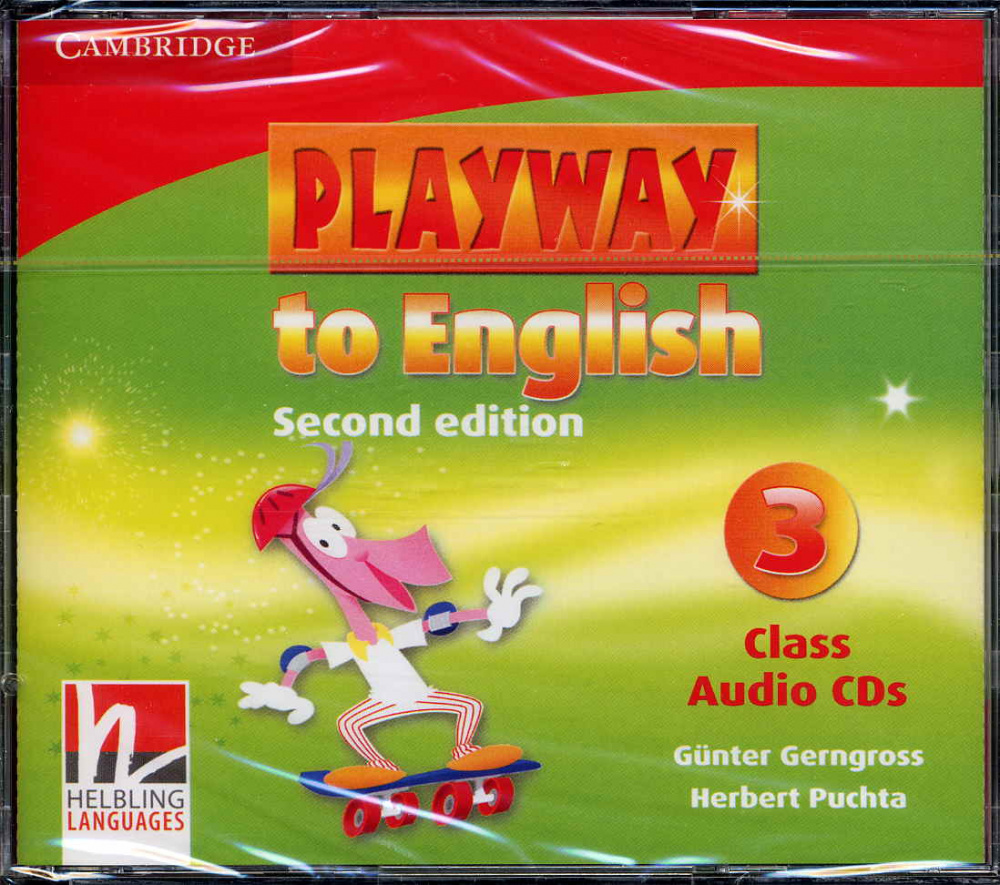 Playway to English (Second Edition) 3 Class Audio CDs (Лицензия)