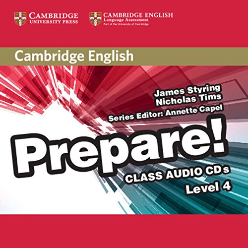 Cambridge English Prepare! Level 4 Class Audio CDs (2) (Лицензия)