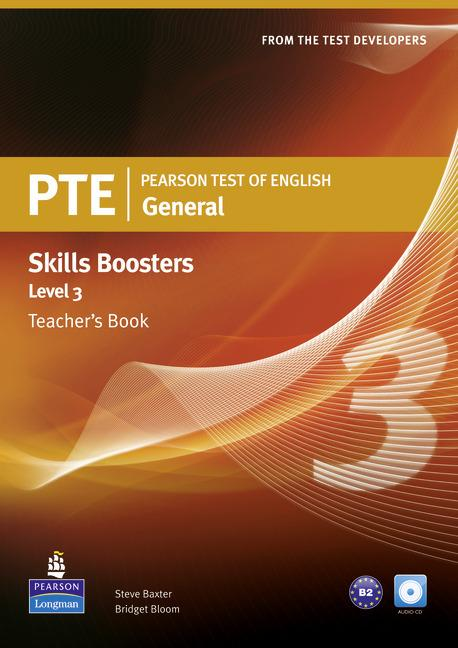 PTE General Skills Booster 3 Teacher's Book (with Audio CD)