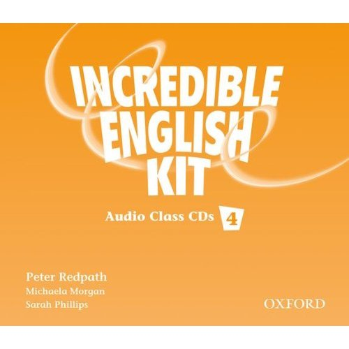 Incredible English 4 Class Audio CD