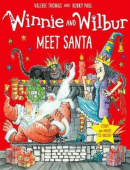 Winnie and Wilbur: Meet Santa (Paperback + CD)
