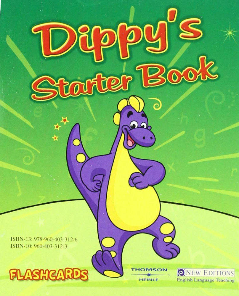 Dippy's Starter Book - Flashcards