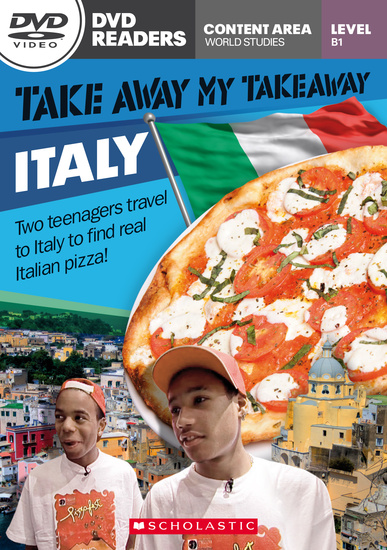 Scholastic DVD Readers Level 3: Take Away My Takeaway: Italy with DVD