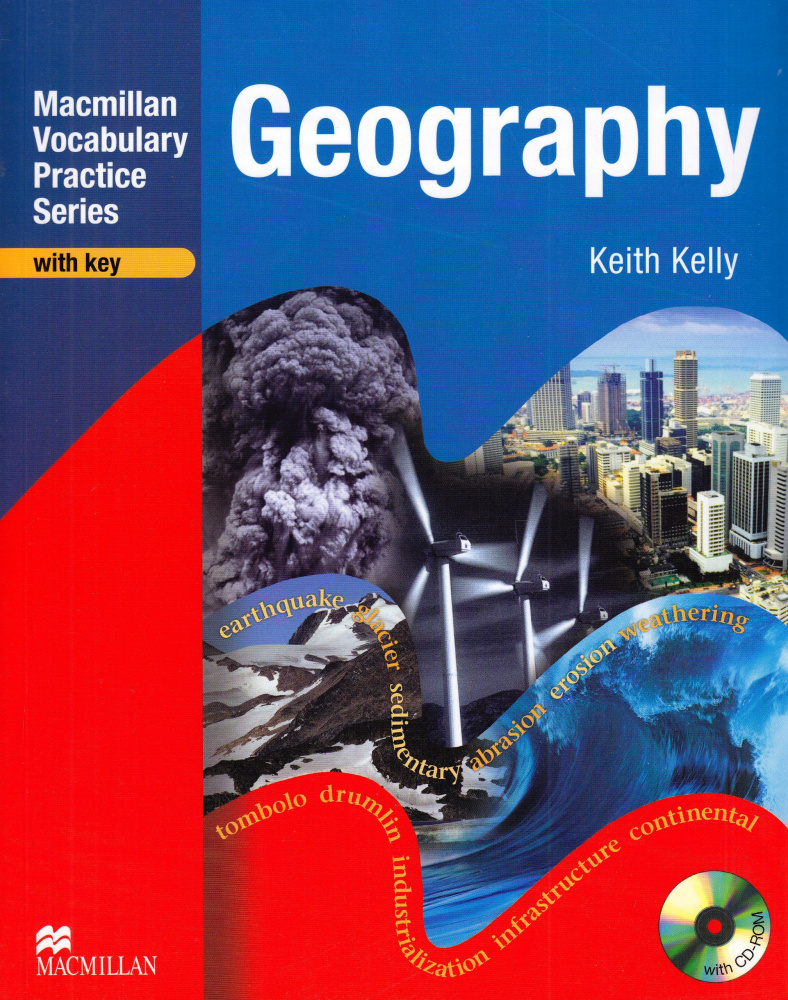 Macmillan Vocabulary Practice Series. Geography with key and CD-ROM
